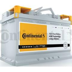Batterie de démarrage 70ah / 720A CONTINENTAL - 2800012006280