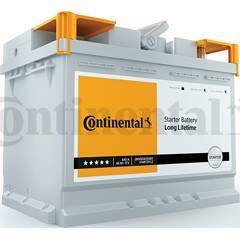 Batterie de démarrage 65ah / 640A CONTINENTAL - 2800012021280