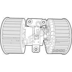 Pulseur d'air habitacle DENSO - DEA05002