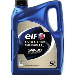 Engine Oil EVOLUTION FULLTECH  LLX  5W30 - 5 Liters ELF - 213920