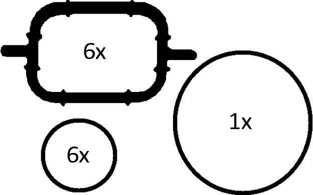 Gasket Set, intake manifold