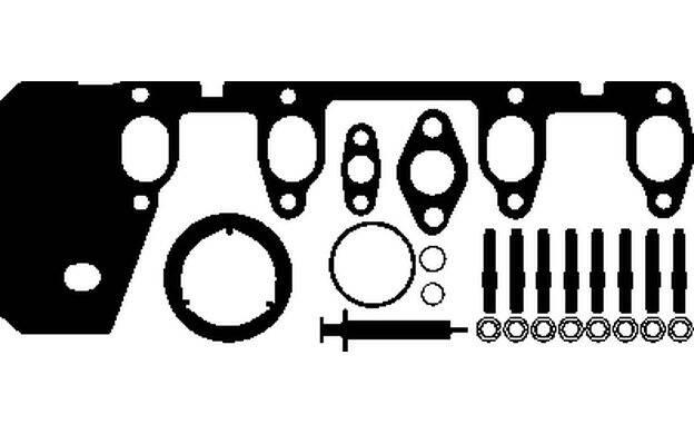 Kit de montage chargeur-Elring 196.390