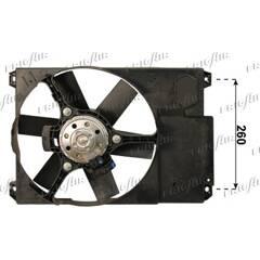Fan, radiator FRIGAIR - 0504.1195