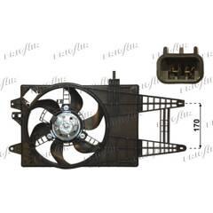 Fan, radiator FRIGAIR - 0504.1213