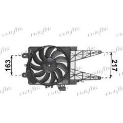 Fan, radiator FRIGAIR - 0504.2033