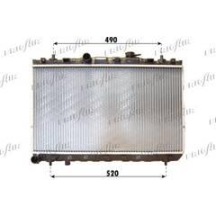 Radiator, engine cooling FRIGAIR - 0128.3099