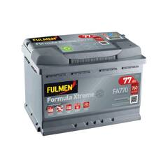 Batterie de démarrage 77ah / 760A FULMEN - FA770