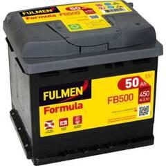 Batterie de démarrage 50ah / 450A FULMEN - FB500