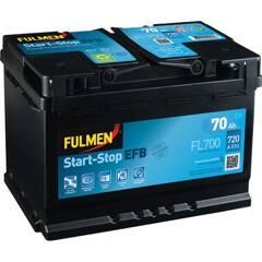 Batterie de démarrage 70ah / 630A FULMEN - FL700