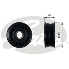 Deflection/Guide Pulley, v-ribbed belt GATES - T36398