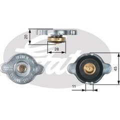 Radiator Cap GATES - RC133