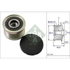 Pulley- alternator INA - 535 0080 10