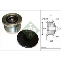 Pulley- alternator INA - 535 0088 10