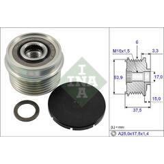 Pulley- alternator INA - 535 0223 10