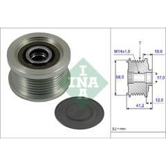 Pulley- alternator INA - 535 0232 10