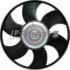 Fan, radiator JP GROUP - 1114901100