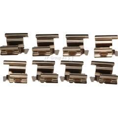 Kit d'accessoires (plaquette de frein) JP GROUP - 1163750310
