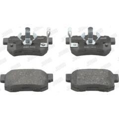 Rear brake pad set (4 pcs) JURID - 572544J