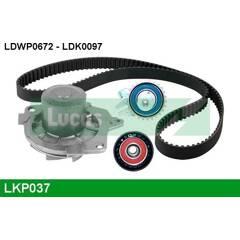 Water Pump + Timing Belt Kit LUCAS - LKP037