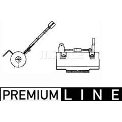 Pre-resistor, blower MAHLE BEHR - ABR 84 000P