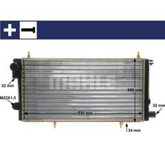 Radiateur MAHLE ORIGINAL - CR 431 000S