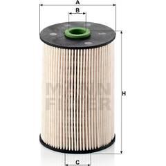 Filtre à carburant MANN-FILTER - PU 936/1 x
