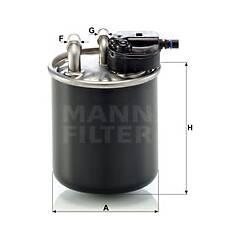 Filtre à carburant MANN-FILTER - WK 820/21