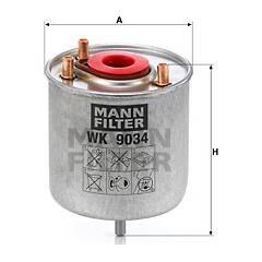Filtre à carburant MANN-FILTER - WK 9034 z
