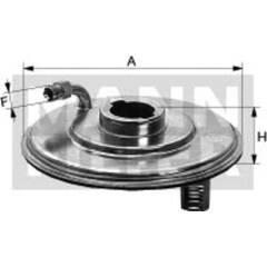 Filtre hydraulique (correcteur d'assiette) MANN-FILTER - H 187