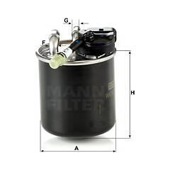 Fuel filter MANN-FILTER - WK 820/17