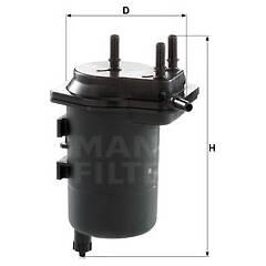 Fuel filter MANN-FILTER - WK 939/5