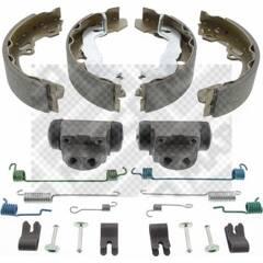 Kit de freins arrière (prémontés) MAPCO - 9772