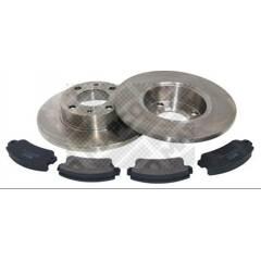 Kit disques et plaquettes de frein MAPCO - 47010