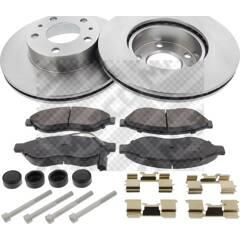 Kit disques et plaquettes de frein MAPCO - 47037
