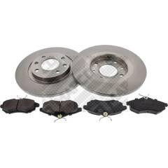 Kit disques et plaquettes de frein MAPCO - 47356