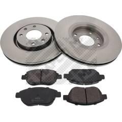 Kit disques et plaquettes de frein MAPCO - 47357