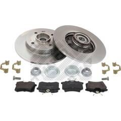 Kit disques et plaquettes de frein MAPCO - 47358
