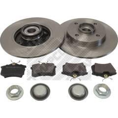 Kit disques et plaquettes de frein MAPCO - 47361