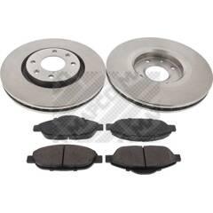 Kit disques et plaquettes de frein MAPCO - 47431