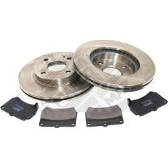 Kit disques et plaquettes de frein MAPCO - 47510