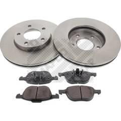 Kit disques et plaquettes de frein MAPCO - 47515
