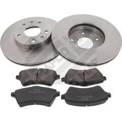 Kit disques et plaquettes de frein MAPCO - 47555