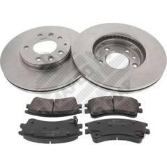 Kit disques et plaquettes de frein MAPCO - 47556