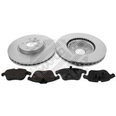 Kit disques et plaquettes de frein MAPCO - 47661HPS