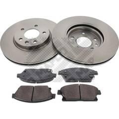 Kit disques et plaquettes de frein MAPCO - 47698