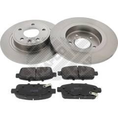Kit disques et plaquettes de frein MAPCO - 47699