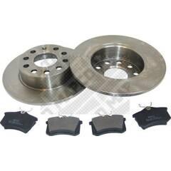 Kit disques et plaquettes de frein MAPCO - 47831