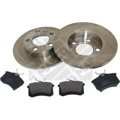 Kit disques et plaquettes de frein MAPCO - 47858