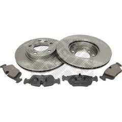 Kit disques et plaquettes de frein MAPCO - 47881
