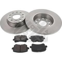 Kit disques et plaquettes de frein MAPCO - 47906